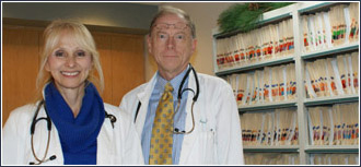 The image above is of the doctors at Pikes Peak Internal Medicine.